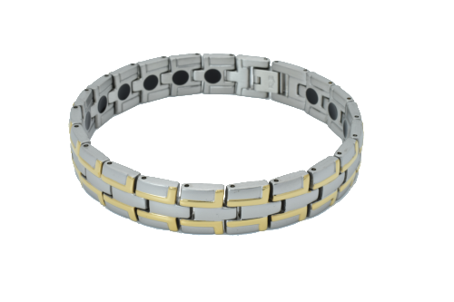 silver-gold-link-watchband