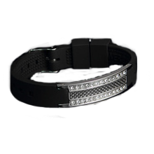 black-silicone-medical-bling-stainless